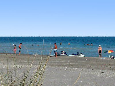 beauduc beach in camargue